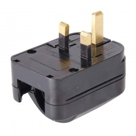 Silverline EU to UK Converter Plugs 'CEE 7/4, CEE 7/7 – 206209