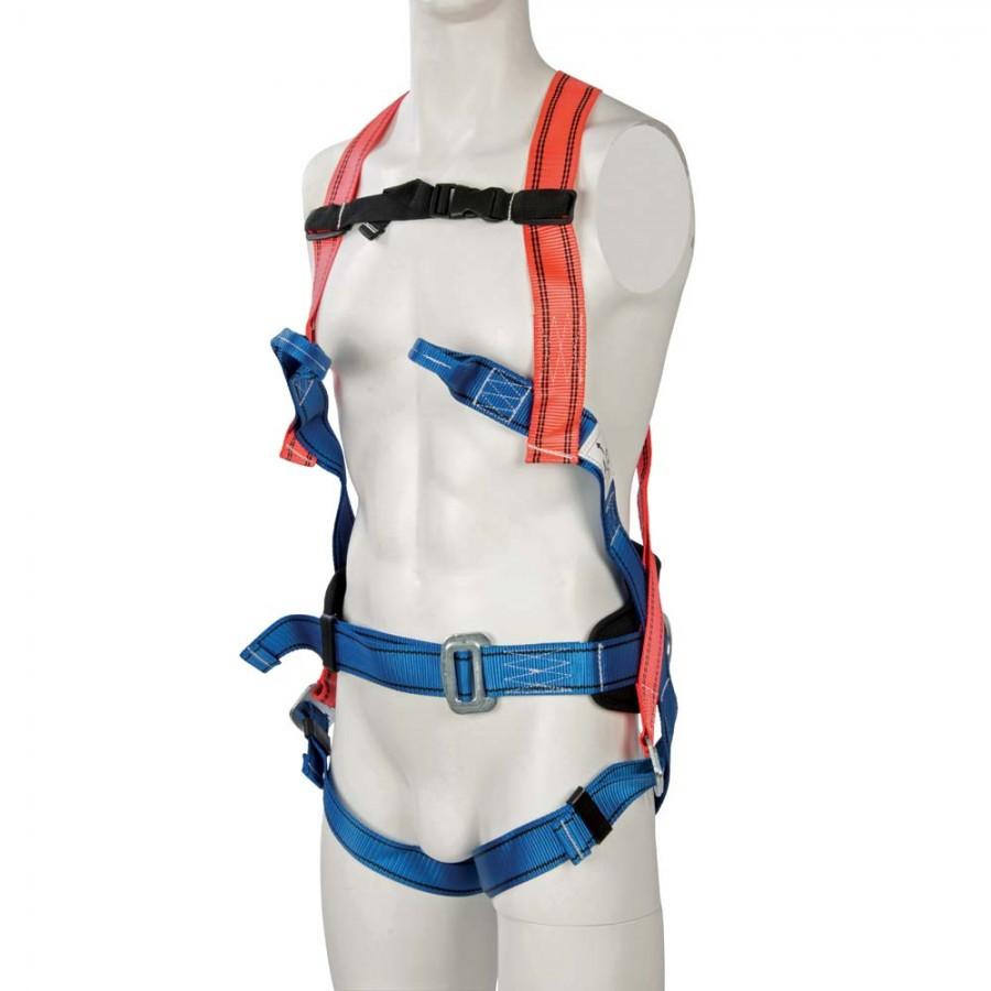 silverline fall arrest restraint harness 4 point. Black Bedroom Furniture Sets. Home Design Ideas