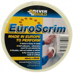 Everbuild EuroScrim Drywall Tape 48mm x 90m