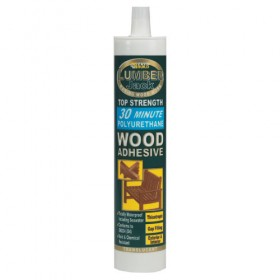 Lumberjack 30 Minute Polyurethane Wood Adhesive Gel - 310ml