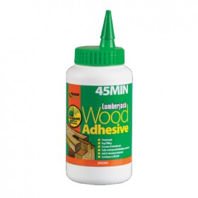 Lumberjack 45 Minute PU Polyurethane Wood Adhesive Liquid 750grm