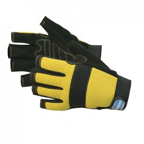 Silverline Fingerless Mechanics Gloves Large - 868837