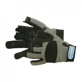 Silverline Part Fingerless Mechanics Gloves Large - 282597