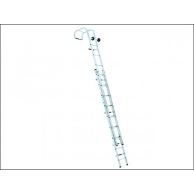 Zarges Industrial Roof Ladder Two Part 1 x 11 & 1 x 12 Rungs