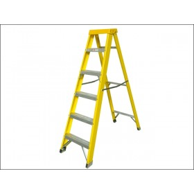 Zarges Fibreglass Swingback Steps Stepladder 6 Rungs