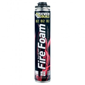 Everbuild B2 Fire Foam Gun Grade Expanding Foam 750ml - Box of 12