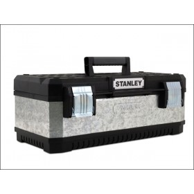 Stanley Galvanised Metal Toolbox 23In 1-95-619