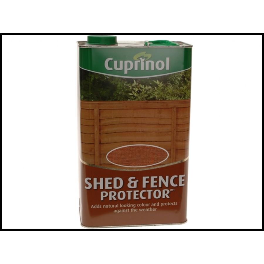 Cuprinol Shed Fence Protector Rustic Green 5l Cupsfrg5l Shed Fence Treatment Qwikfast