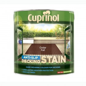 Cuprinol Anti Slip Decking Stain 2.5L Cedar Fall