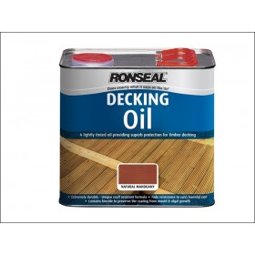 Ronseal Decking Oil Natural Oak 2.5L