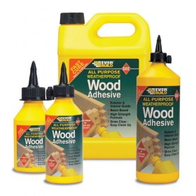 502 All Purpose Wood Weatherproof Wood Adhesive - 1L