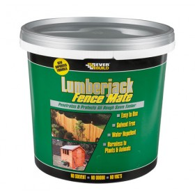 Lumberjack Fence & Shed Mate Treatment Burnt Oak 5 Litre