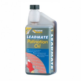 Everbuild Lead Mate Lead Flashing Patination Oil - 1L