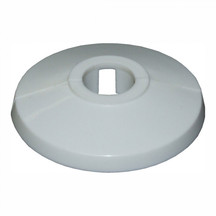 15mm Unifix Tradefix Plastic Pipe Collar Cover White - Box ...