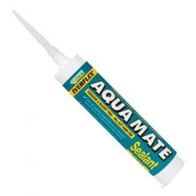 Everbuild Aqua Mate Aquarium Silicone Sealant Trans 300ml - Box of 12