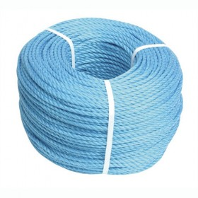 Polypropylene Blue Rope 8mm x 220m - FAIRB22080