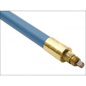Bailey 1606 Lockfast Blue Poly Rod 1in x 3ft