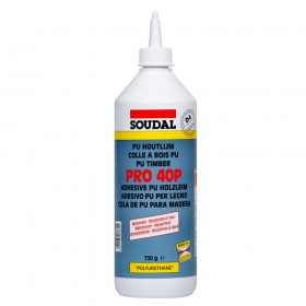 Soudal PRO 40P PUR Polyurethane Wood Adhesive Glue 750gr (Box of 6)
