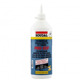 Soudal PRO 45P PUR Polyurethane Wood Adhesive Glue 750gr (Box of 6)