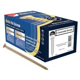 7.5 x 200mm Timco Multi-Fix Direct Frame Concrete Screw (Box 100)