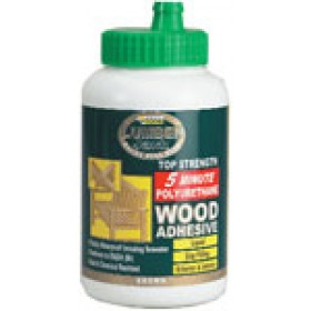 Lumberjack 5 Minute Polyurethane Wood Adhesive Liquid - 750gr