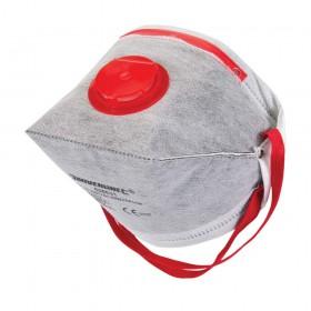 Silverline Fold Flat Valved Face Mask FFP3 NR – 656631