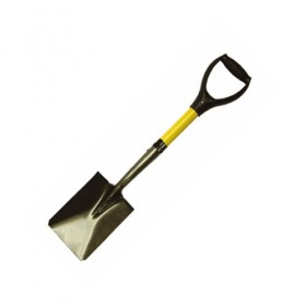 Roughneck Micro Shovel Square Point Head - Fibre Glass Handle
