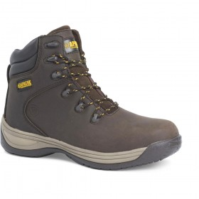 Apache AP315CM S3 Flexi Safety Hiker Boot Brown
