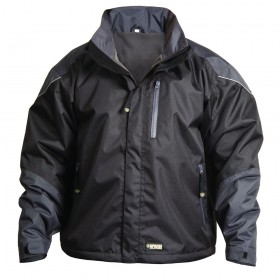 Apache All Season Work Jacket Black/Grey