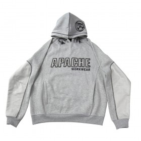 Apache APAHOOD Hooded Sweatshirt Grey