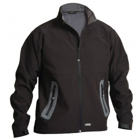 Apache Soft Shell Jacket Black/Grey
