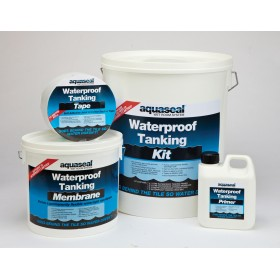 Everbuild Aquaseal Wet Room Tanking System Kit - AQWRSKIT