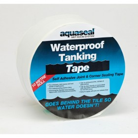 Everbuild Aquaseal Waterproof Wet Room Tanking Tape 10m