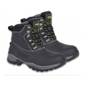 Apache Digger SBH Waterproof Safety Boots Black
