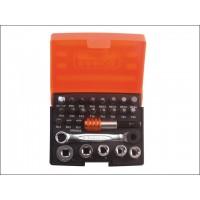 Bahco 2058/S26 Ratchet Socket Bit Set 26-Piece