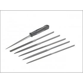Bahco 2-470-16-2-0 Needle Set 16cm Cut 2 Smooth