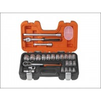 Bahco S240 Socket Set 24-Piece 1/2in Drive