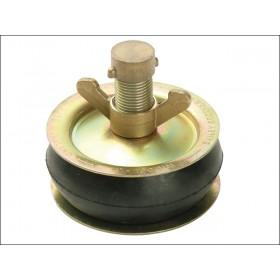 Bailey 2416 Drain Test Plug 4in - Brass Cap