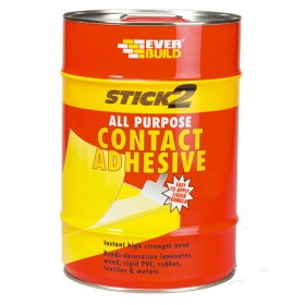 Everbuild Stick2 All Purpose Contant Adhesive - 5L
