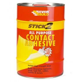 Everbuild Stick2 All Purpose Contant Adhesive - 5L