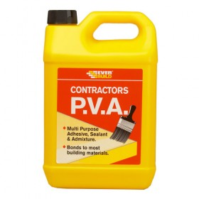 Everbuild Contractors PVA Multi-Purpose Primer & Sealer 5L