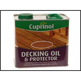 Cuprinol Decking Oil & Protector 2.5L Natural Cedar