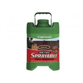 Cuprinol Spray Fence Treatment Autumn Brown 5L