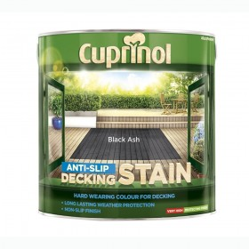 Cuprinol Anti Slip Decking Stain 2.5L Black Ash