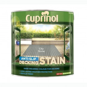 Cuprinol Anti Slip Decking Stain 2.5L City Stone