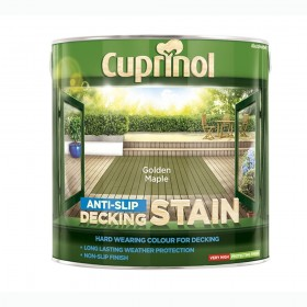 Cuprinol Anti Slip Decking Stain 2.5L Golden Maple