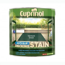 Cuprinol Anti Slip Decking Stain 2.5L Vermont Green