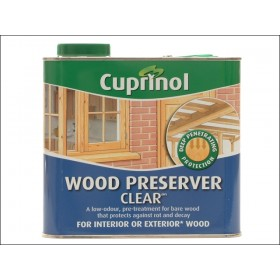 Cuprinol Wood Preserver Clear 2.5L