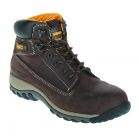 DeWALT Hammer Non Metallic Work Safety Nubuck Boot Brown