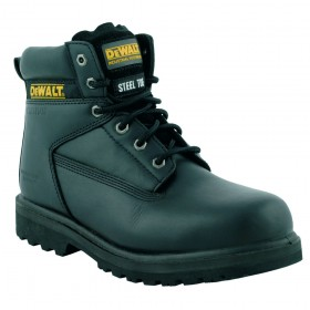 DeWALT Maxi Leather Safety Boot with Mid-Sole Black